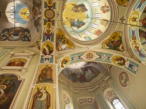 Vydubychi Monastery, Kiev, Ukraine, Europe by Graham Lawrence
