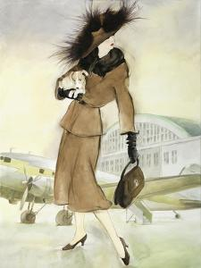 Vintage Lady I by Graham Reynolds