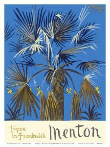 Menton - Tropen in Frankreich (Tropics in France) - Palm Tree by Graham Sutherland
