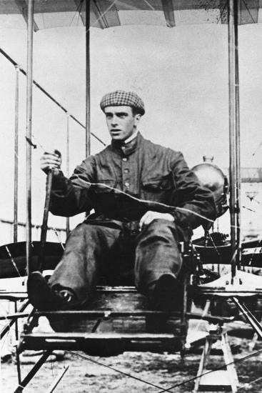 Graham White, British Pioneer Aviator, C1910--Giclee Print
