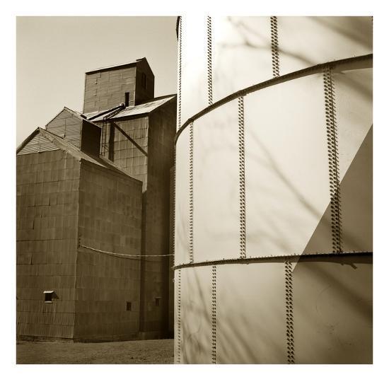 Grain Elevators-TM Photography-Premium Photographic Print