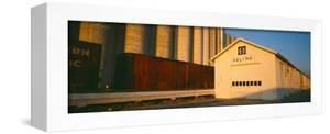 Grain Silo Railroad Station, Salina, Kansas