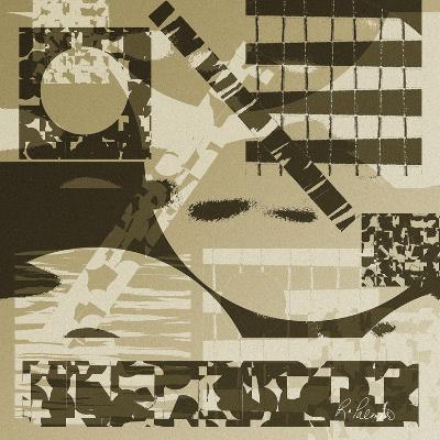 Grainy Neutrals-Ruth Palmer-Art Print