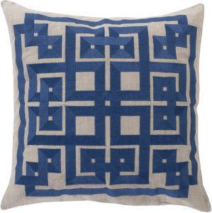 Gramercy Down Fill Pillow - Nautical Blue