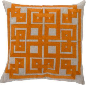 Gramercy Down Fill Pillow - Orange