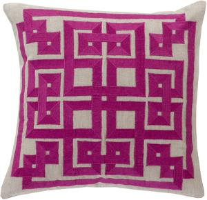 Gramercy Poly Fill Pillow - Magenta