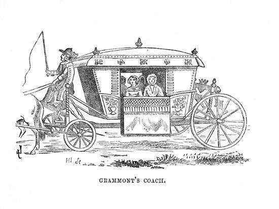 'Grammont's Coach', c1870-Unknown-Giclee Print