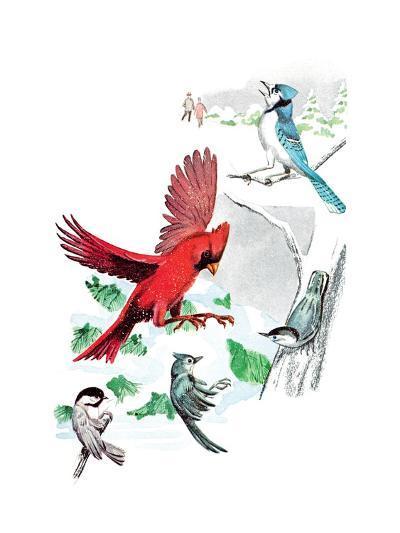 Gramps' Nature Tales - Jack & Jill-Bill Walsh-Giclee Print