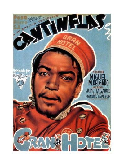 Gran Hotel, Cantinflas on Spanish Poster Art, 1944--Giclee Print