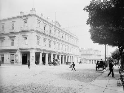 Gran Hotel Inglaterra, Havana, Cuba-William Henry Jackson-Photo