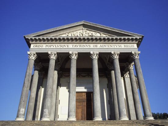 Gran Madre Di Dio Church, Turin, Piedmont, Italy, Europe-Vincenzo Lombardo-Photographic Print