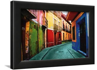 Granada, Spain-Ynon Mabat-Framed Art Print