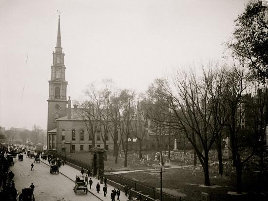 Granary and Park Street Church--Photo