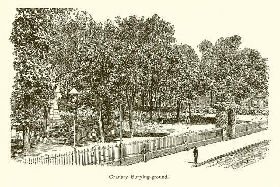 Granary Burying-Ground--Giclee Print