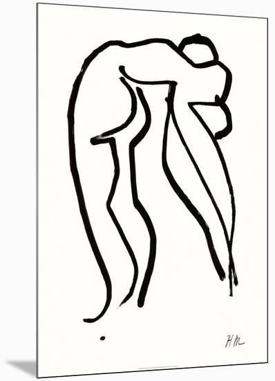 Grand Acrobate, c.1952-Henri Matisse-Mounted Serigraph