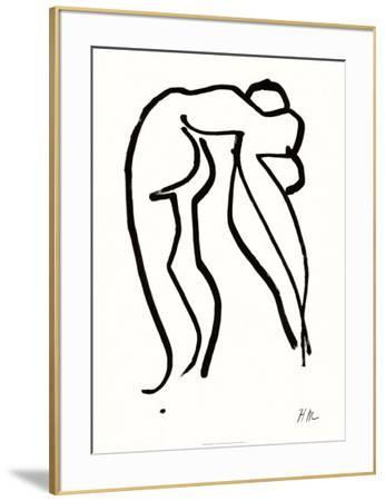 Grand Acrobate, c.1952-Henri Matisse-Framed Serigraph