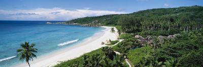 Grand Anse Beach, La Digue Island, Seychelles--Photographic Print