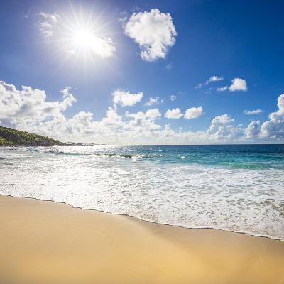 Grand Anse Beach, La Digue, Seychelles-Jon Arnold-Photographic Print