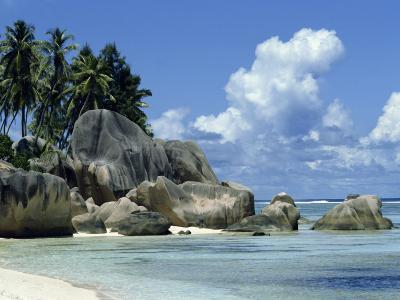 Grand Anse, La Digue, Seychelles, Indian Ocean, Africa-Robert Harding-Photographic Print