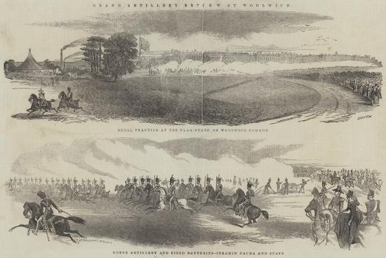 Grand Artillery Review at Woolwich--Giclee Print