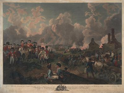 Grand Attack on Valenciennes-Philippe De Loutherbourg-Giclee Print