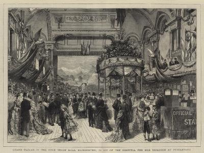 Grand Bazaar in the Free Trade Hall--Giclee Print