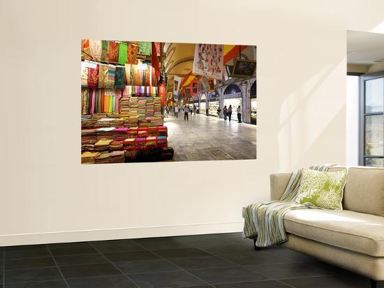 Grand Bazaar-Jean-pierre Lescourret-Giant Art Print