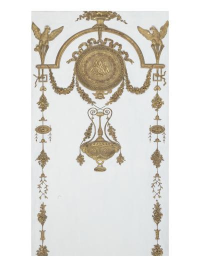 Grand Cabinet intérieur de la Reine (Cabinet doré)-Jean-Hugues Rousseau-Giclee Print