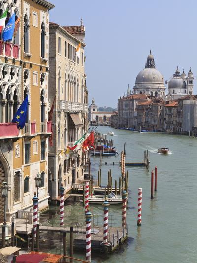 Grand Canal and Santa Maria Della Salute, Venice, UNESCO World Heritage Site, Veneto, Italy, Europe-Amanda Hall-Photographic Print