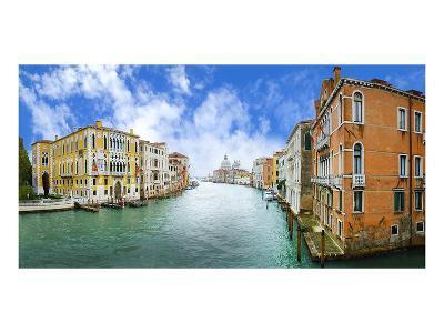 Grand Canal & Basilica Venice--Art Print
