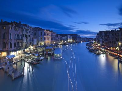 Grand Canal from the Rialto, Venice, Italy-Jon Arnold-Photographic Print