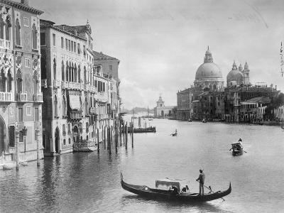 Grand Canal in Venice--Photographic Print