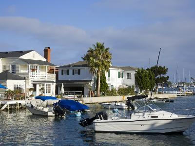 Grand Canal on Balboa Island, Newport Beach, Orange County, California, United States of America, N-Richard Cummins-Photographic Print