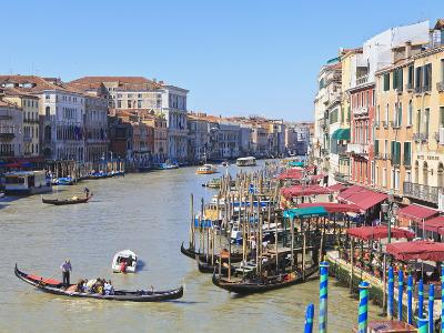 Grand Canal, Venice, UNESCO World Heritage Site, Veneto, Italy, Europe-Amanda Hall-Photographic Print