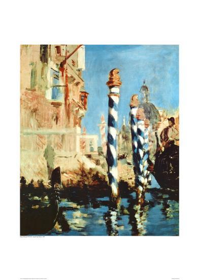 Grand Canal, Venice-Edouard Manet-Art Print