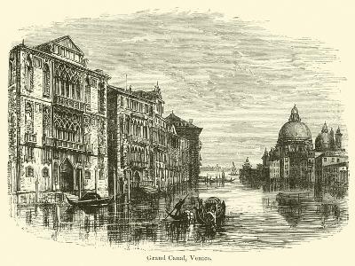 Grand Canal, Venice-E. Jennings-Giclee Print