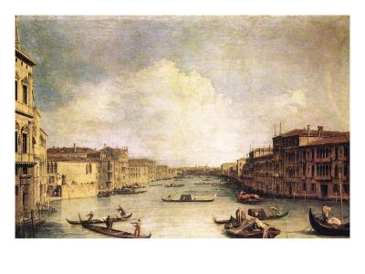 Grand Canal-Canaletto-Art Print
