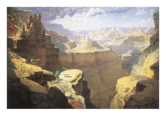 Grand Canyon, 1911-William Robinson Leigh-Giclee Print