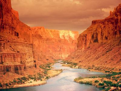 Fine Art Photography GC03 Color Photo Print Grand Canyon at Sunset Storm Moved to the West
