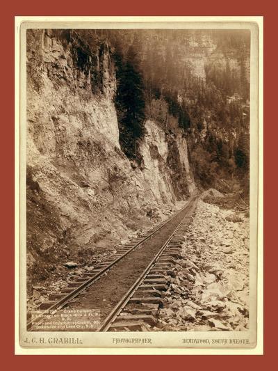 Grand Canyon. Elk Canyon on Black Hills and Ft. P. R.R-John C. H. Grabill-Giclee Print