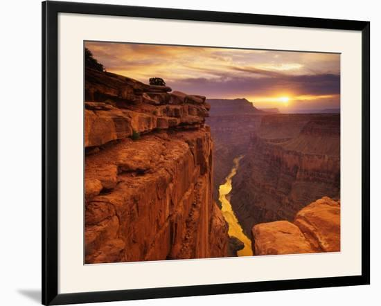 Grand Canyon from Toroweap Point-Ron Watts-Framed Photographic Print