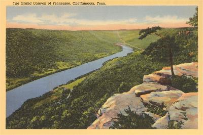 Grand Canyon of Tennessee, Chattanooga--Art Print