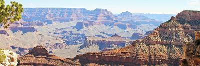 Grand Canyon Panorama II-Sylvia Coomes-Art Print