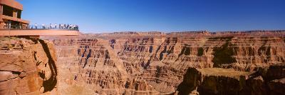 Grand Canyon Skywalk, Eagle Point, West Rim, Grand Canyon, Arizona, USA--Photographic Print