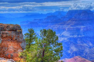 Grand Canyon Storm-diomedes66-Photographic Print