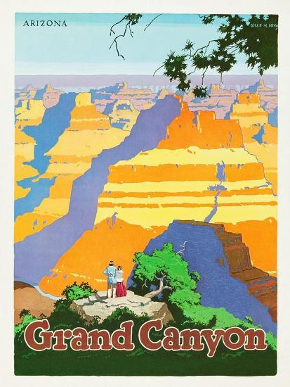 Grand Canyon-Oscar M^ Bryn-Art Print