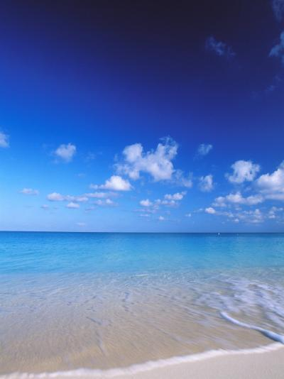Grand Cayman, Cayman Islands; Caribbean at Seven Mile Beach and Ocean-James Forte-Photographic Print