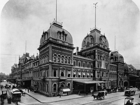 Grand Central Depot, New York--Photographic Print