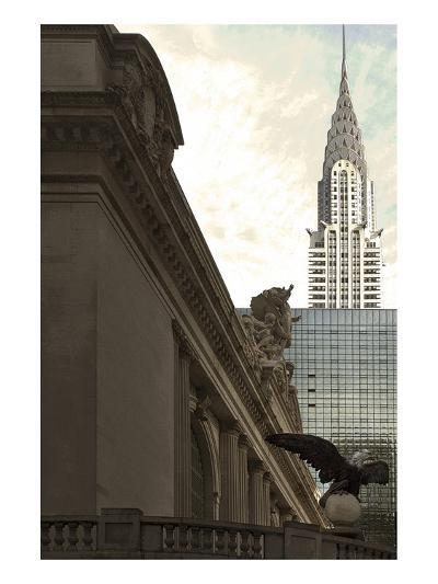 Grand Central Eagle II-Richard James-Art Print