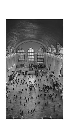 Grand Central Interior from Above-Henri Silberman-Photographic Print